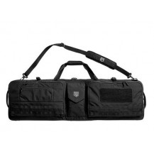 Cannae Pro Gear Triplex Acies Rifle Range Bag - Black - Front View