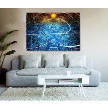 Canvas Prints Abstract Art - A0, ABA01