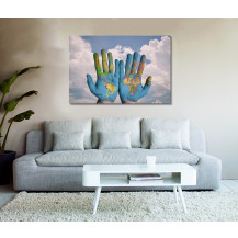 Canvas Prints Abstract Art - A1, ABA110
