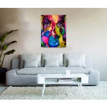 Canvas Prints Abstract Art - A2, ABA217