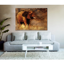 Canvas Prints Big 5 Collection - A0, Elephant 2