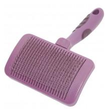 Rosewood Self-Cleaning Slicker Brush - Medium