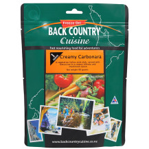 Back Country Cuisine Creamy Carbonara Freeze Dried Meal