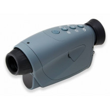 Carson Aura Plus 2-4x Digital Night Vision Monocular/Camcorder - Blue/Black