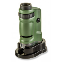 Carson MicroBrite 20-40x LED Pocket Microscope - Green