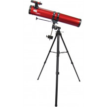 Carson Red Planet 45-100x114mm Reflector Telescope With Smartphone Adapter Bundle
