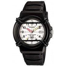 Casio 100M Dial Analogue Men's Watch - HDA-600B-7BVDF, White