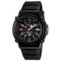 Casio HDA-600B-1BVDF 100M Black Dial Analogue Men's Watch