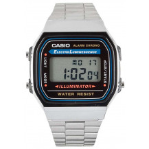 Casio Retro Unisex Watch - A168WA-1UWD