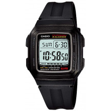 Casio Standard Collection Mens Watch - F201WA-1AUDF