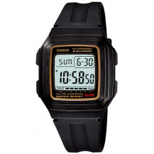Casio Standard Collection Mens Watch - F201WA-9AUDF