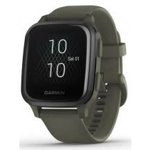 Garmin Venu Sq Music Smartwatch - Moss/Slate