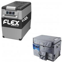 FLEX CF55 Camping Fridge-Freezer With Cover