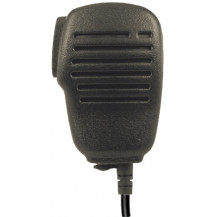 Cobra Handheld 2 Way Radio Speaker Microphone Close Up View