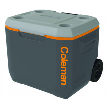 Coleman 50QT Xtreme Wheeled Cooler Box - 47L, Grey