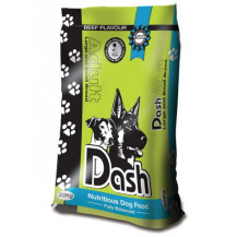 Complete Dash Dog Food Poly Bag - Beef, 20kg