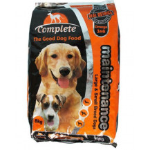 Complete Dog Food Poly Bag - Ostrich, 8kg