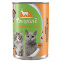 Complete Tinned Cat Food - Beef Casserole, 385g