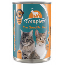 Complete Tinned Cat Food - Pilchard Chunks