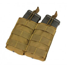 Condor MA19 Double Open Top 5.56/M4/M16 Mag Pouch - Coyote Brown
