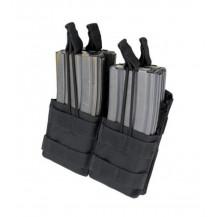 Condor Ma43 Double Stacker Open Top 5.56/M4/M16 Mag Pouch - Black