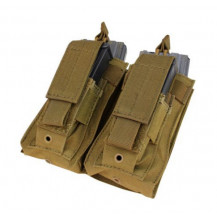 Condor Ma51 Double Kangaroo Pistol/M4 Mag Pouch - Coyote Brown