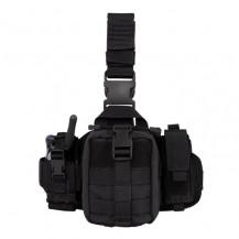 Condor Emt Leg Rig with Three Detachable Pouches - Black