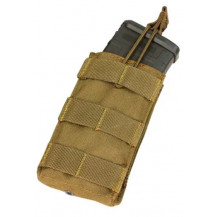 Condor Open-Top M4/M16 Magazine Pouch - Single, Coyote Brown