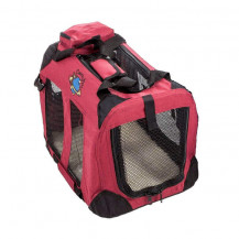 Cosmic Pets Collapsible Pet Carrier - Small - Maroon