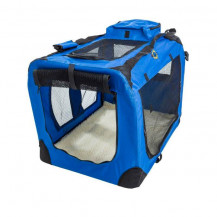 Cosmic Pets Collapsible Pet Carrier - Large - Blue