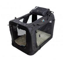 Cosmic Pets Collapsible Pet Carrier - 4XLarge - Black