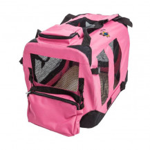 Cosmic Pets Collapsible Pet Carrier - Large - Pink