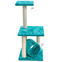 Cosmic Pets Solar Flare Cat Tree - Turquoise