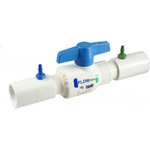 EZ-Flo Coupling Connection With Ball Valve - 3/4 & 1 Inch