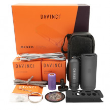 Davinci MIQRO Explorer Vape Collection - Onyx