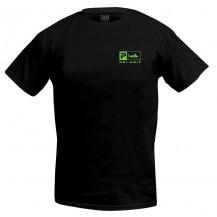 Pelagic Deluxe Dorado Green Logo T-Shirt - Black