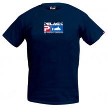 Pelagic Deluxe Logo T-Shirt - Navy