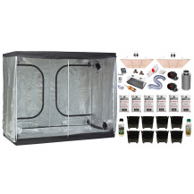 Deluxe Grow Tent Combo - 240 x 120 cm, 600W LED Board, Just Cannabis & Cannabiz