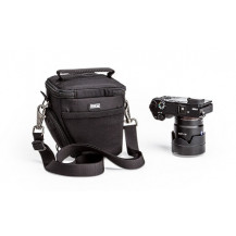 Think Tank Digital Holster 5 Bag - Black front view - Camera NOT Included