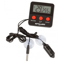 Digital Thermo- Hygrometer With Probe