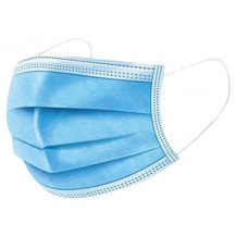 Disposable Non-Woven 3-Ply Face Mask - 5 Pack