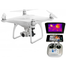 DJI Phantom 4 FLIR Boson Thermal Ready to Fly Drone Combo - 9Hz