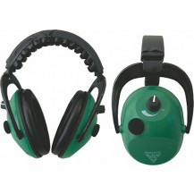 RAM EAR-TECT ET-E1 ELECTRONIC EAR MUFFS - GREEN