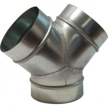 "Y Piece Ducting 6"" (150mm) - 6"" (150mm)"