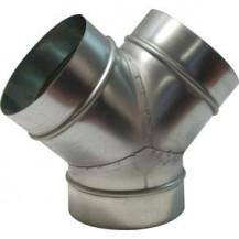 """Y Piece Ducting 8"""" (200mm) - 8"""" (200mm)"""
