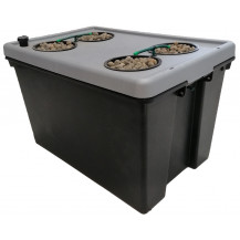 Deep Water Culture (DWC) Hydroponic System - 4 Pot