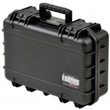 SKB iSeries 1610-5 Mil-Spec Pistol Case with Layered Foam - Black
