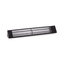 Eco Heat 1.0kW Indoor Infrared Heater - Black