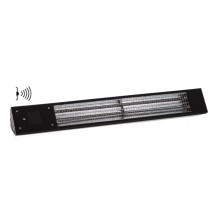 Eco Heat 1.0kW Infrared Heater with motion sensor - Black
