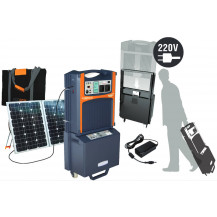Ecoboxx 1500 Solar Power Station Kit